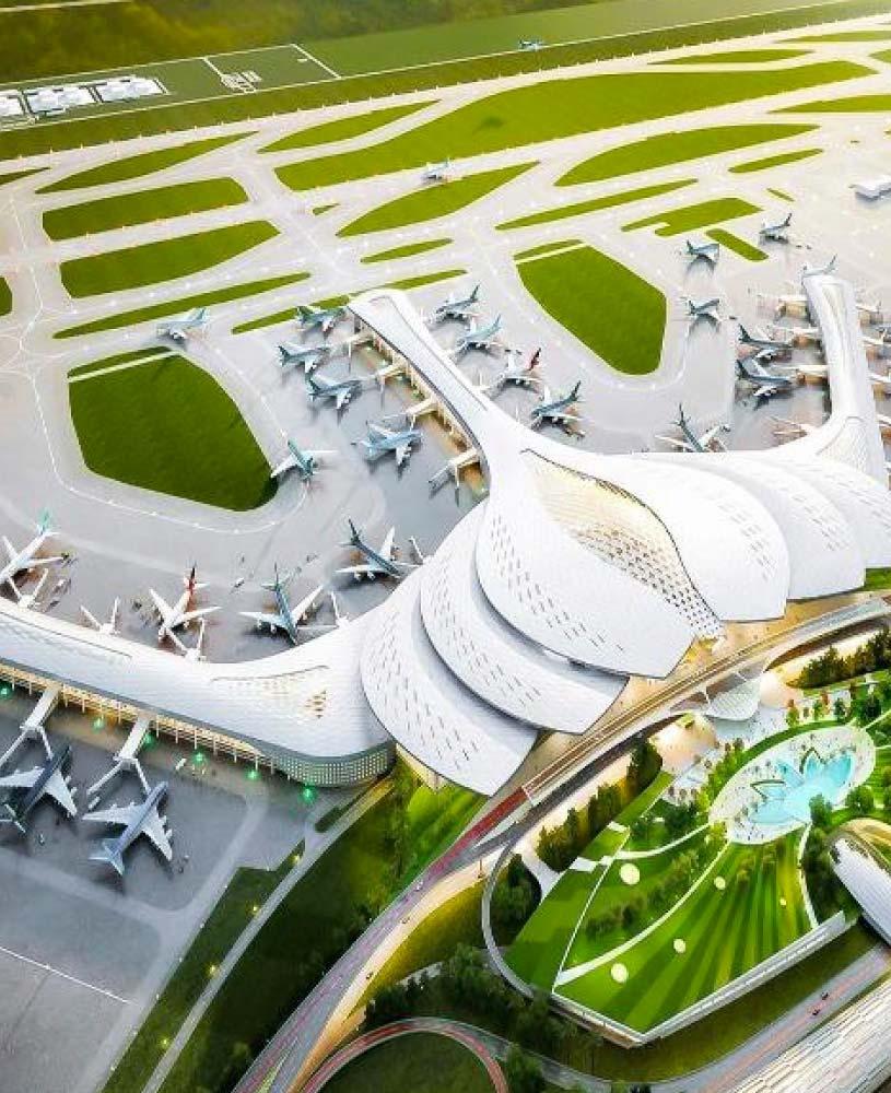 Sân bay Long Thành - Đối diện